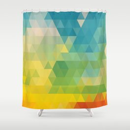 Meduzzle: Colorful Days Shower Curtain