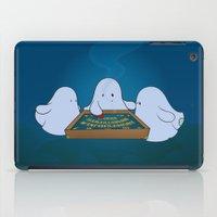 ouija iPad Cases featuring Ouija Board by mangulica