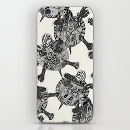 turtle party iPhone Skin
