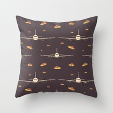 Take Off (Pattern) Throw Pillow