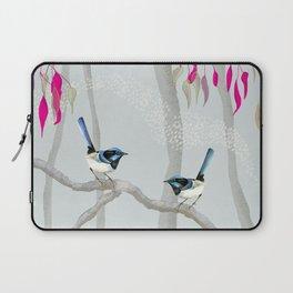 Blue Wren Australian Birds Laptop Sleeve