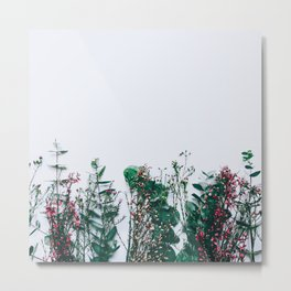 Peeking Nature Metal Print