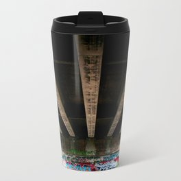 Under the Bridge Metal Travel Mug
