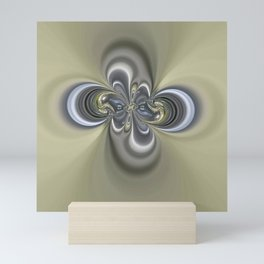 2 rings Mini Art Print