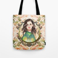 charli xcx Tote Bags featuring Charli XCX by Share_Shop