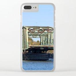 Swing Bridge Opening Clear iPhone Case