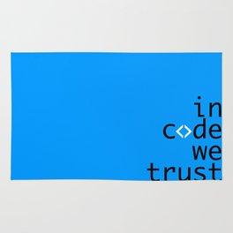 In Code We Trust - Developer Rug
