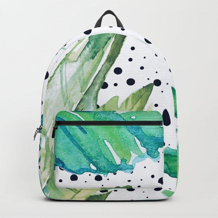 Botanic polka dots Backpack