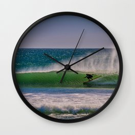Green Room at the River Jetties Wall Clock