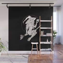I Put A Spell On You Wall Mural