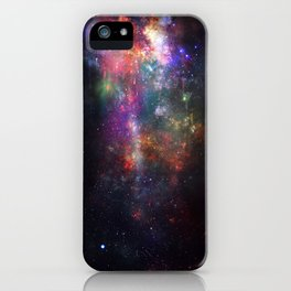 The Melting of Our Space-Time Fabric iPhone Case
