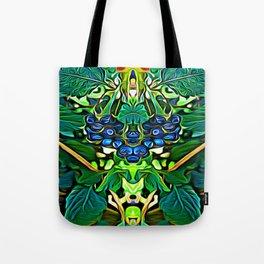 Lantana Berry Elementals Tote Bag