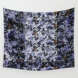 Purple Pattern Wall Tapestry