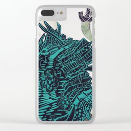 Potential Paisley Clear iPhone Case