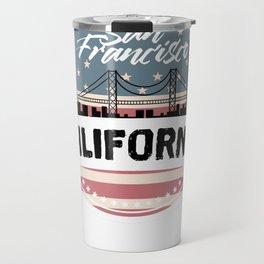 My City, My Home SAN FRANCISCO, California Travel Mug