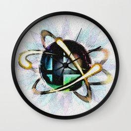 Smashing Colors Wall Clock