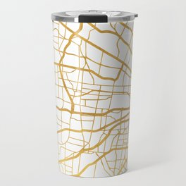 ST. LOUIS MISSOURI CITY STREET MAP ART Travel Mug