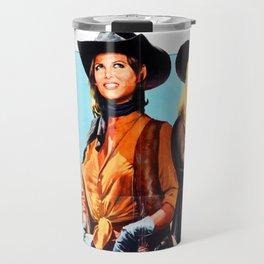 Western Movie Poster Travel Mug