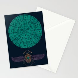 Sacred Sun Stationery Cards