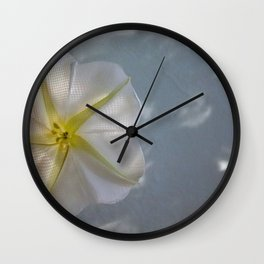Moon Flower Wall Clock