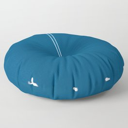 Jetset - Bluest Blue Floor Pillow