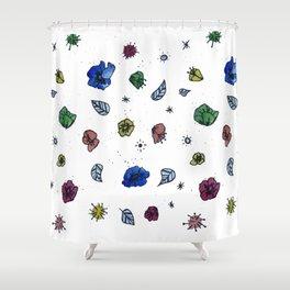 Flower Power  Shower Curtain