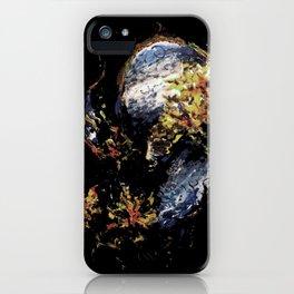 Venetian Mask Blue Devil iPhone Case