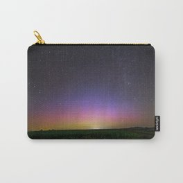 Colorful Aurora Borealis Night Sky Carry-All Pouch