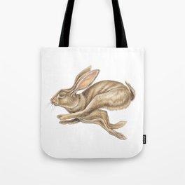 Hare Watercolour - Nursery Art by Magda Opoka Tote Bag