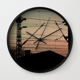Candy Sky II Wall Clock