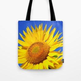Bold Sunflower Tote Bag