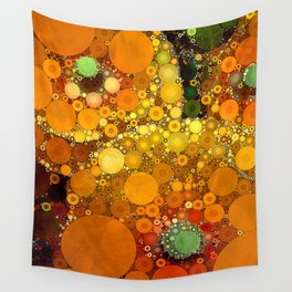 Sunset Poppies Wall Tapestry