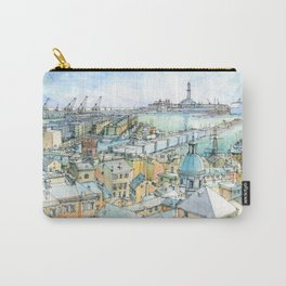 Il Porto (view of Genoa) Carry-All Pouch