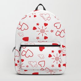love and cute hearts Backpack