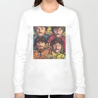 yellow submarine Long Sleeve T-shirts featuring Yellow Submarine by somanypossibilities