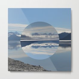 Turnagain Arm Flip Flop Metal Print