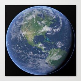 Earth 30 Canvas Print