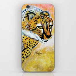 Catch Me If You Can (Cheetah) iPhone Skin