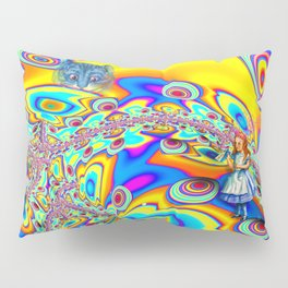 Alice in Fractal Land by Amanda Martinson Pillow Sham