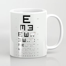 The EWE Chart Coffee Mug