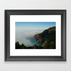 Marin Headlands Fog Framed Art Print
