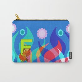 F for Fox Carry-All Pouch