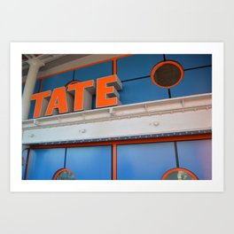 liverpool tate Art Print