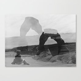Delicate Arch, Moab, Utah Canvas Print