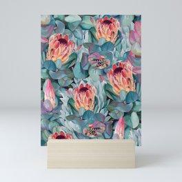 Protea flowers Mini Art Print