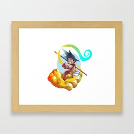 Son Goku Framed Art Print