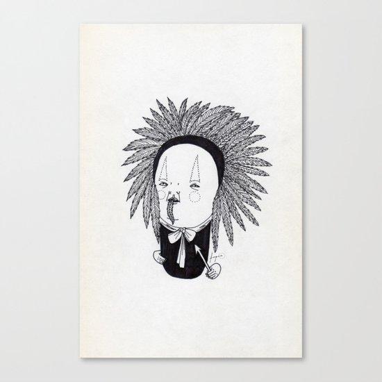 Apache Senior Canvas Print