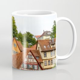 Traditional medieval German houses Coffee Mug