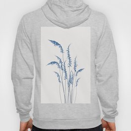Blue flowers 2 Hoody