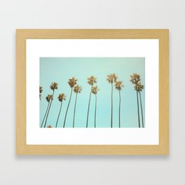 Santa Monica #society6 #decor #buyart Framed Art Print